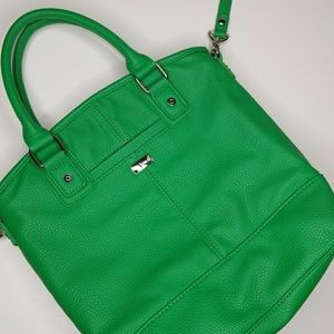 Thirty-one Gatsby's Green Paris Bag w snap in